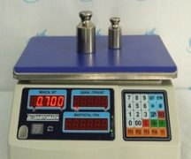 Calibration of electronic scales