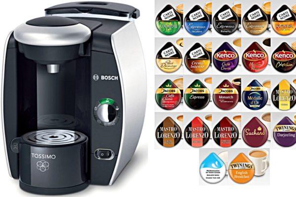 Capsules pour machine à café Bosch Tassimo