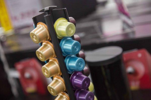Capsules combinées pour machines à café
