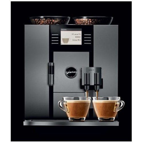 Machine à café européenne Jura Giga 5 en aluminium