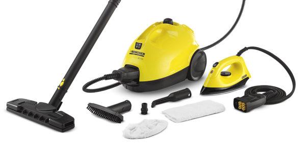 Karcher steam mop - complete set
