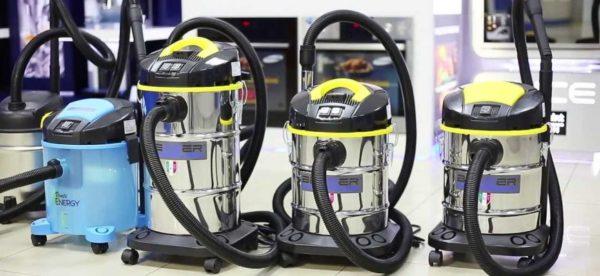 Steam støvsugere