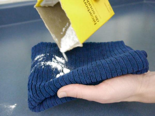 Nettoyage du bicarbonate de soude