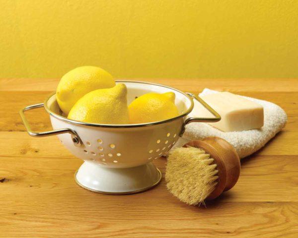 Nettoyage au citron