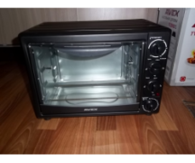 Electric tabletop oven