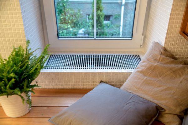 Pencere eşiğine yerleşik konvektör
