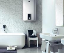 बाथरूम में वॉटर हीटर