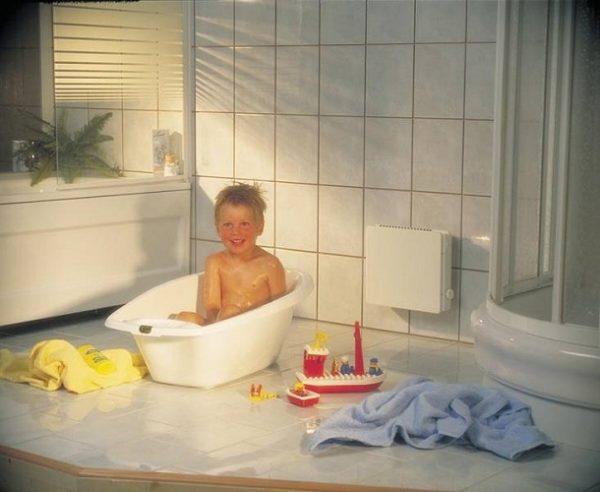 Convecteur de salle de bain