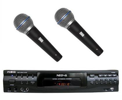DVD microphone