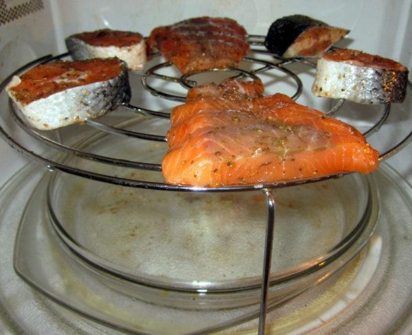 Mikrobølge grillretter