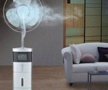Lüfter mit Luftbefeuchter
