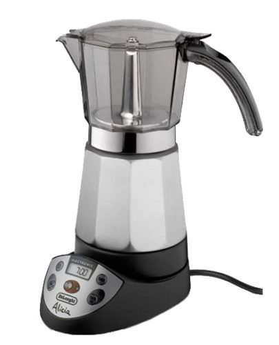 Dijital ekranlı Geysernaya kahve makinesi