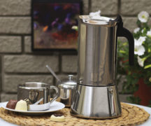 Geysir-Kaffeemaschine