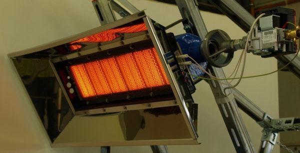 Réchauffeurs de gaz infrarouges