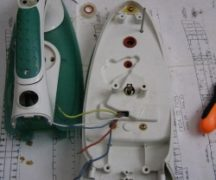 How to disassemble the iron