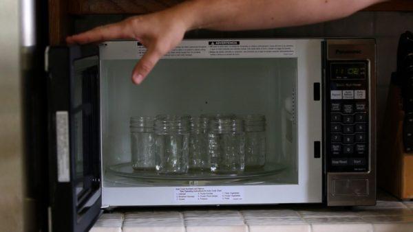 Mikrodalgada bankalar nasıl steril edilir