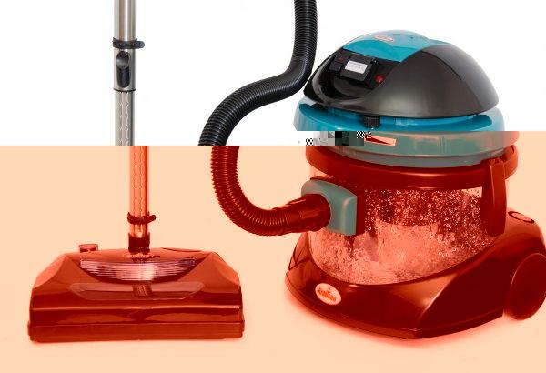 Hookah aqua filter støvsuger