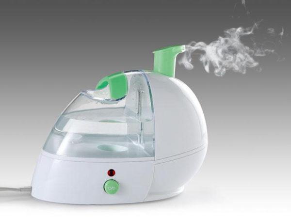 आयनकार के साथ भाप humidifier