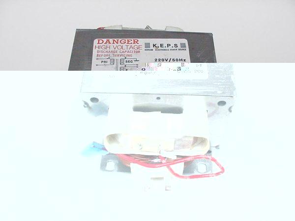 Transformatör mikrodalga fırının birincil sarımı