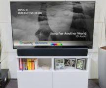 Soundbar med 3D