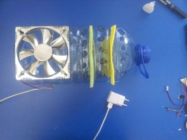 बोतल humidifier