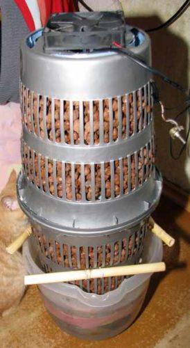 विस्तारित मिट्टी humidifier और बाल्टी