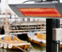 Installing an infrared heater