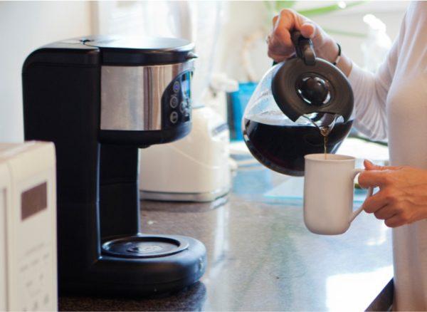 Kahve makinesi operasyon