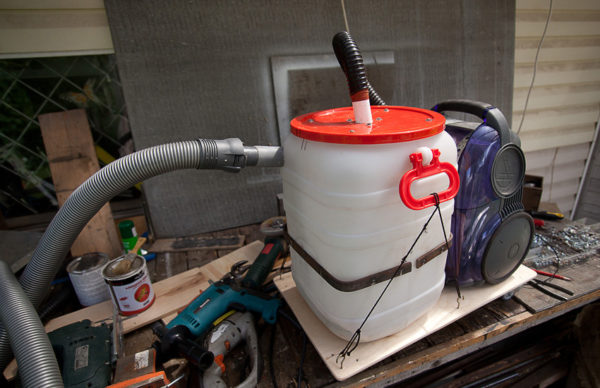 Hookah aqua filter hjemmelaget