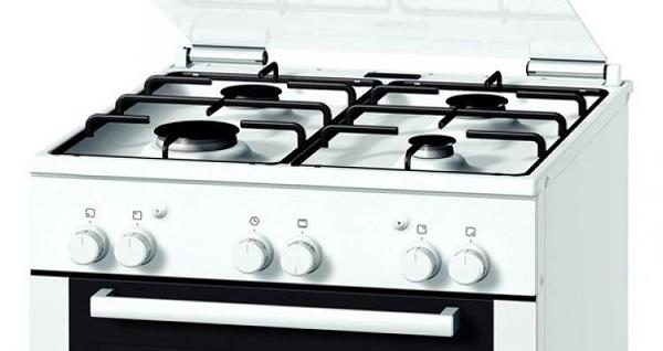 Cuisinière à gaz Bosch