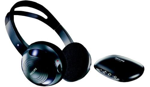 Infrarøde hodetelefoner