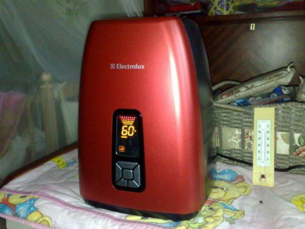 Electrolux EHU-5515D dans la maison
