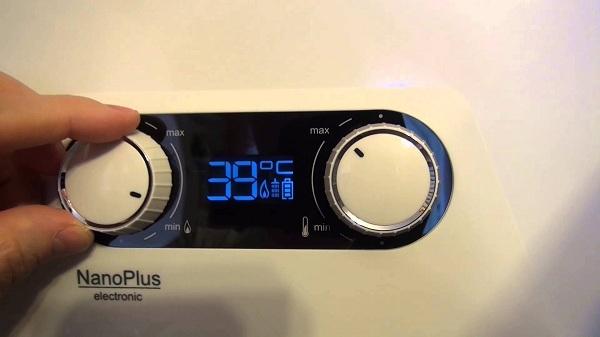Réglage de la température