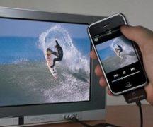 Verbinden Sie das iPhone mit dem Fernseher