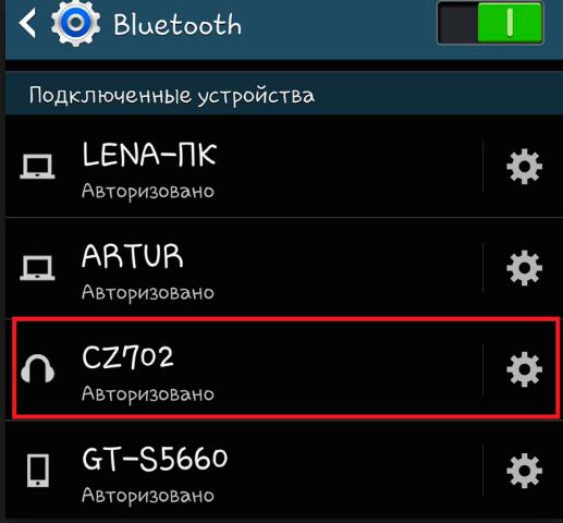 Bluetooth-paring