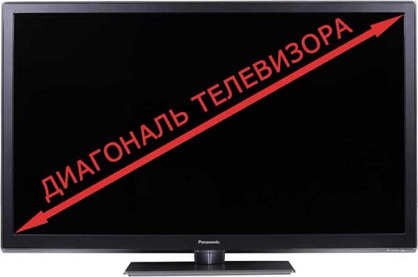 Tv diagonal