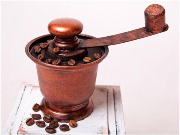 Moulin à café décor