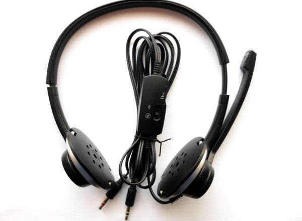 Mikrofon Lydløs hovedtelefoner