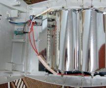 Repair of infrared heater