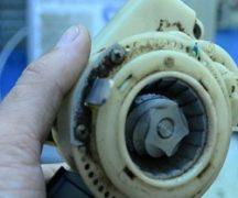 Repararea polizorului de cafea