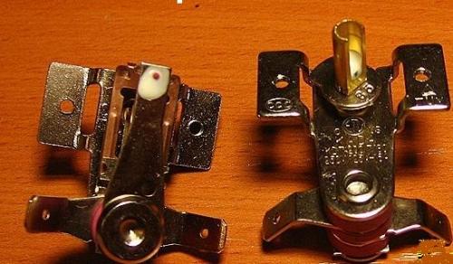 Capteur thermique bimétallique