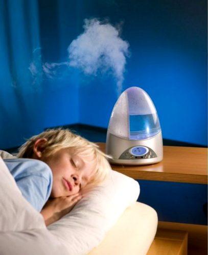 बच्चों के कमरे में Humidifier