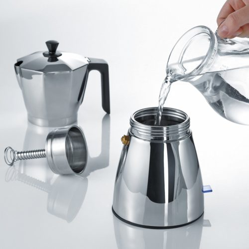 Machine à café geyser opération
