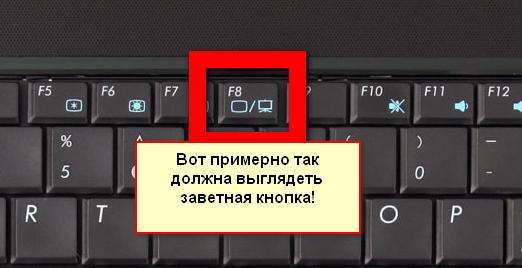 F8-knap