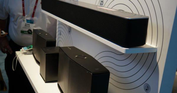 Multifunctioneel luidsprekersysteem