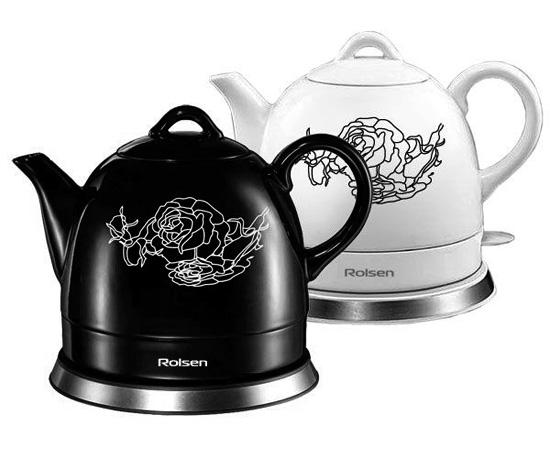 Керамичен електрически чайник