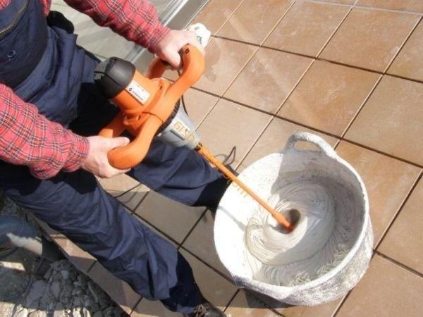 Çimento karıştırma
