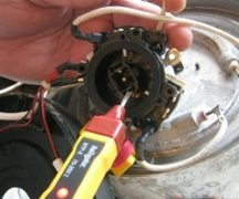 Repair of electric kettle