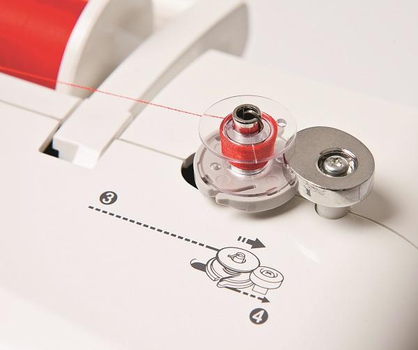 Machine avec capteurs de fil