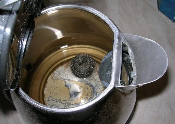 Scum dans la bouilloire